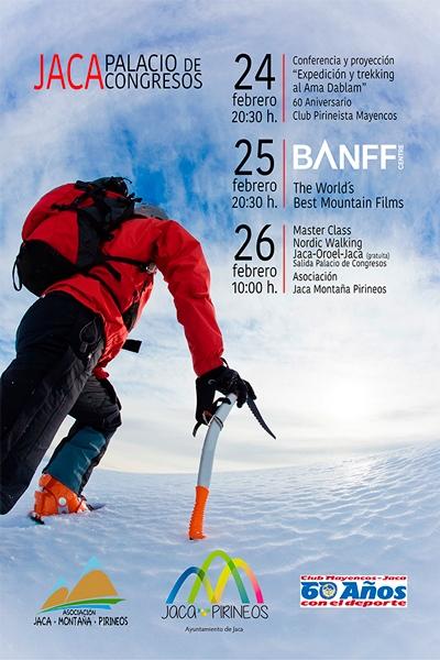 cartel Jornadas de Montaña 2017
