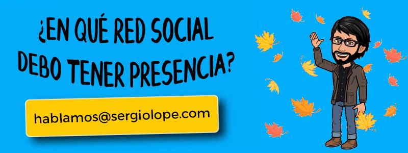 redes sociales - Sergio Lope